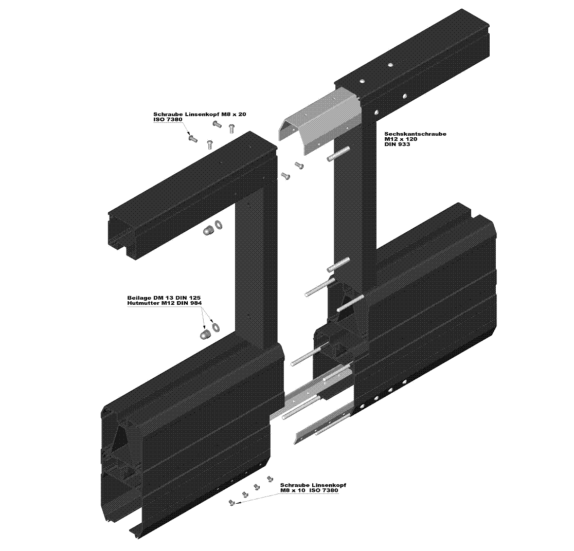 Fig. coupling (gate in two sections)